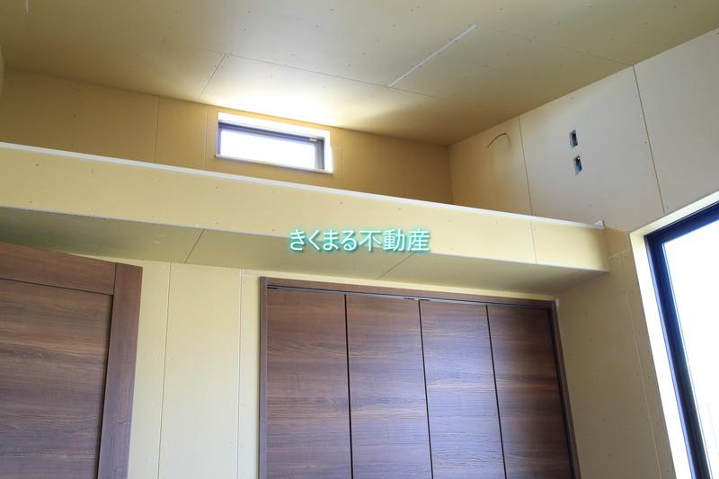 芦屋市翠ヶ丘町新築一戸建て2階洋室6.6帖ロフト