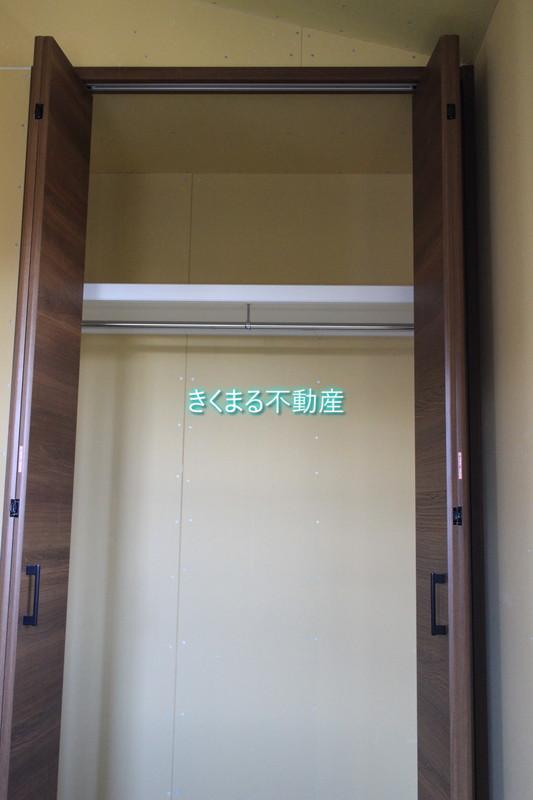 芦屋市翠ヶ丘町3階洋室約7.5帖クロゼット内部