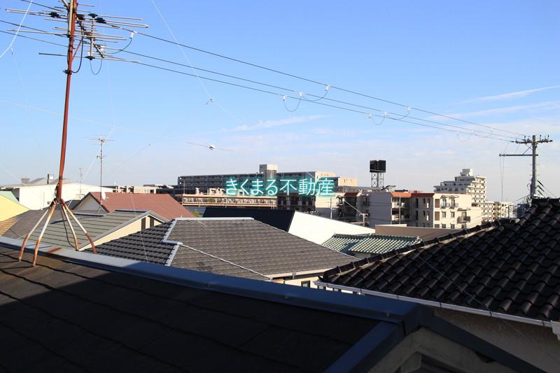 芦屋市翠ヶ丘町新築一戸建て3階洋室6.6帖眺望南東